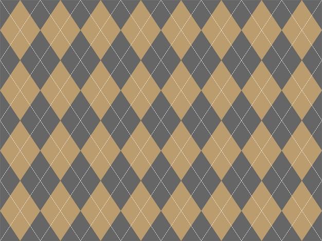 Argyle pattern seamless. fabric texture background.