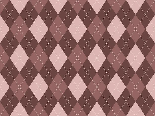 Argyle pattern seamless. fabric texture