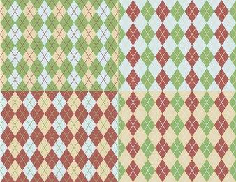 Argyle patterns collection