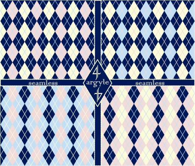 Argyle patterns set