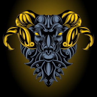 Aries iron emblem