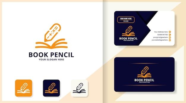 算術ペンブックのロゴと名刺のデザイン