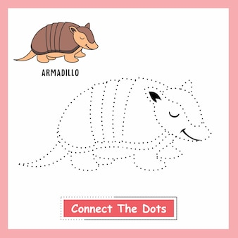Armadillo connect the dots