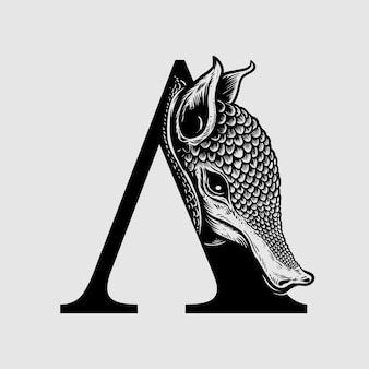 アルマジロロゴ