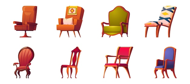 Armchairs for office and home interior
