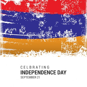 Armenia independence day design