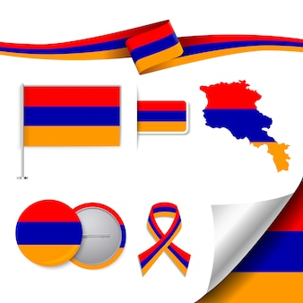 Armenia representative elements collection