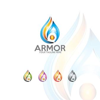 Armor - logo template