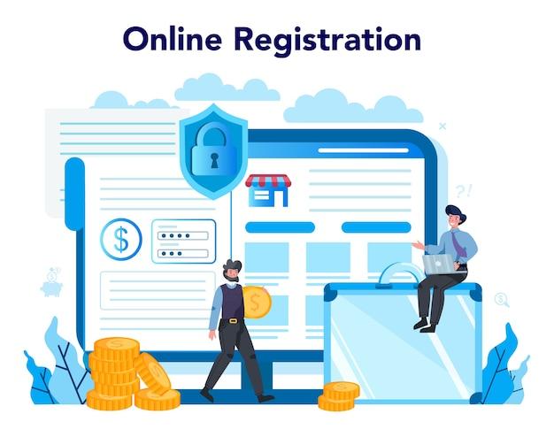 Armored cash truck security online service or platform