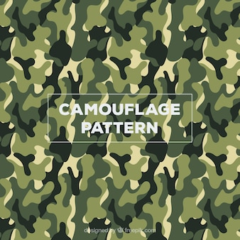Army camouflage clothing pattern vector