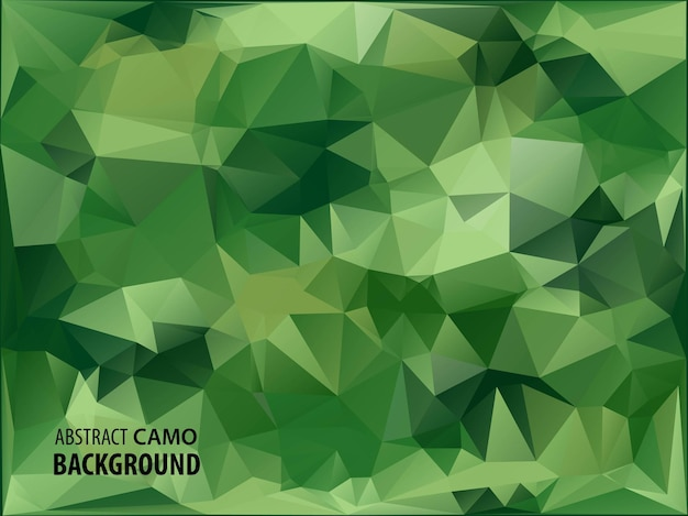 Army military. camouflage background. made of geometric triangles shapes. army  illustration. polygonal style.
