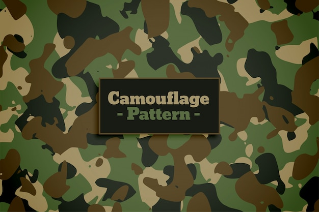 Army and military camouflage texture pattern background