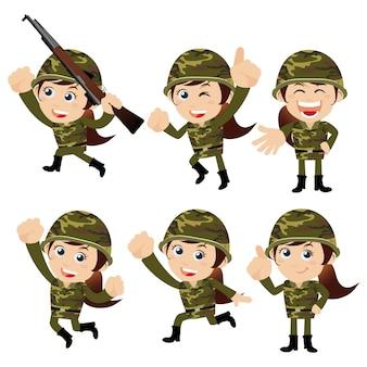 Солдаты армии