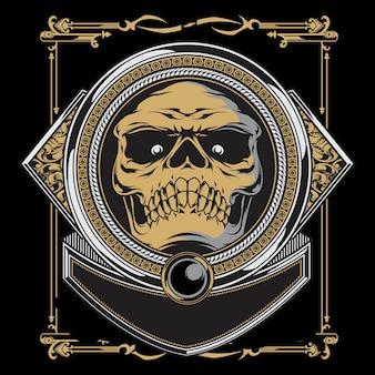 Arogan skull
