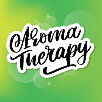 Aroma therapy letter