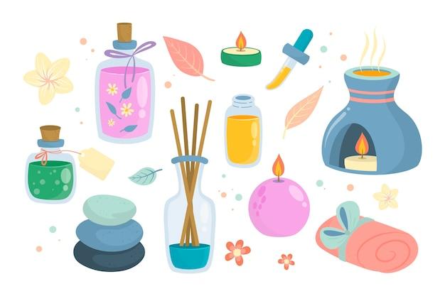 Aromatherapy element set