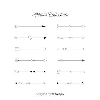 Коллекция стрелок