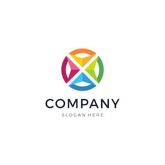 Arrow group logo design