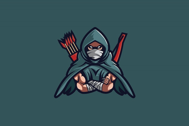 Arrow hood e sports logo