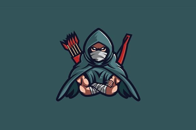 Arrow hood e спортивный логотип