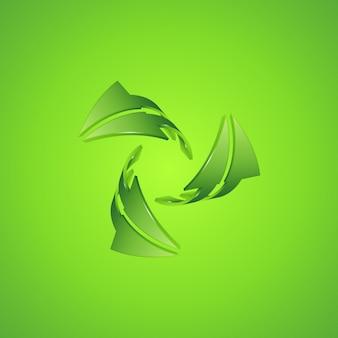Arrow icon illustration.