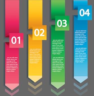 Arrow infographic concept