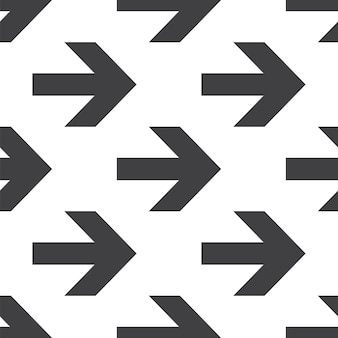 Arrow, vector seamless pattern, editable can be used for web page backgrounds, pattern fills