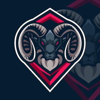 クズウコンヤギeスポーツゲームのロゴ