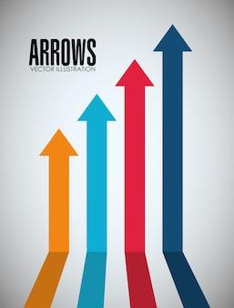 Arrows icons design