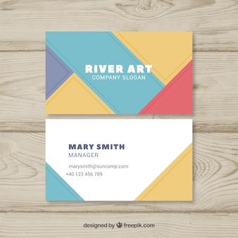 Художественная визитная карточка