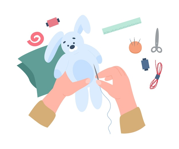 Художественная мастерская по шитью мягкой игрушки для хобби или досуга a