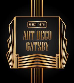 Art deco element design