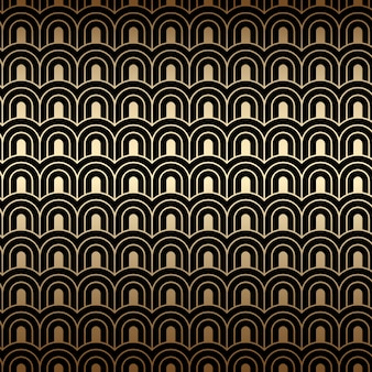 아트 데코 골든 패턴