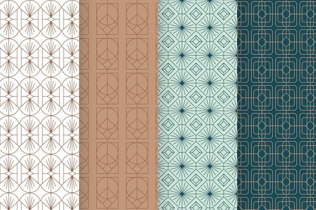 아르 데코 패턴 컬렉션