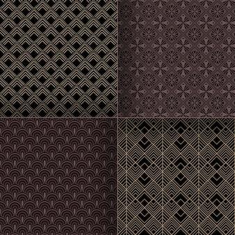 Art deco pattern pack
