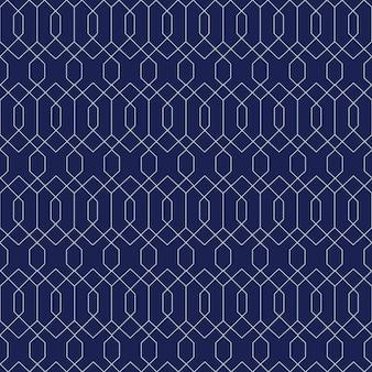 Арт-деко бесшовные модели, геометрический фон для дизайна, обложки, текстиля, обоев, украшения в векторе