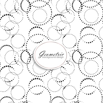 Art deco seamless pattern with gometric elements