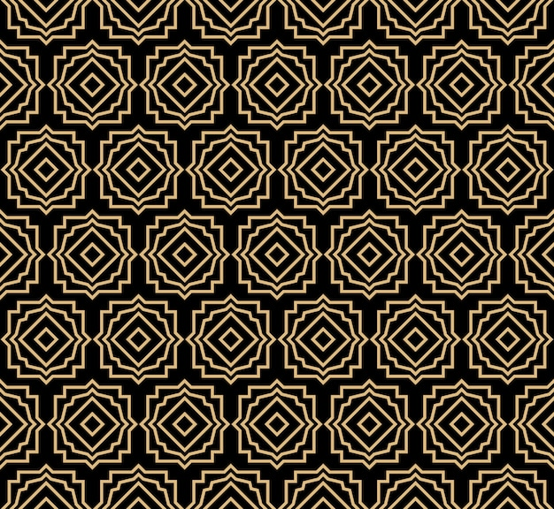 Art deco seamlesss pattern