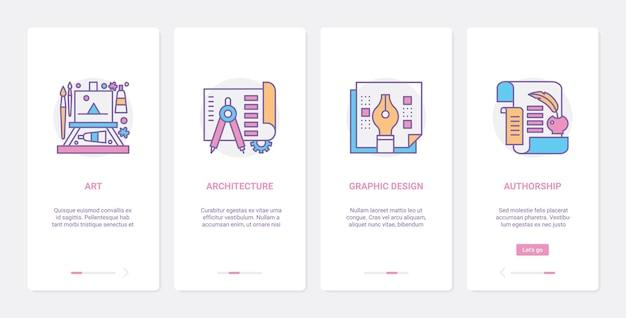 Иллюстрация технологии арт-дизайна