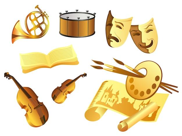 Art objects set