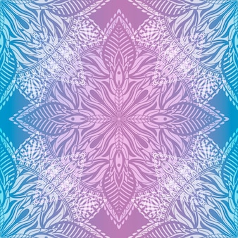 Art seamless pattern mandala