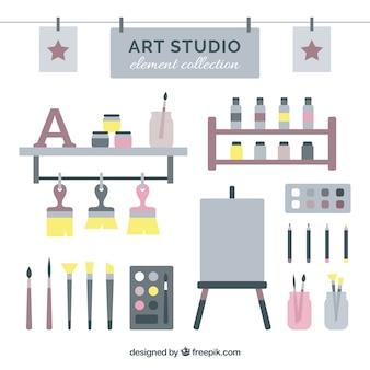 Арт-студия, элемент коллекции
