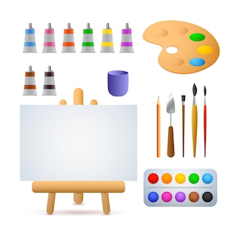 Art studio illustration