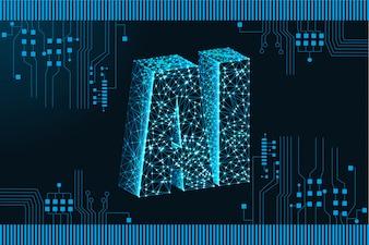 人工知能(AI)ランディングページ