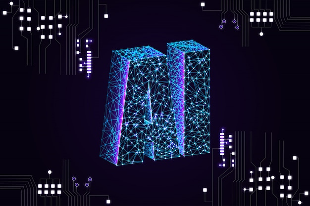 Artificial intelligence (ai) landing page