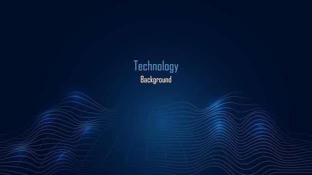 人工知能、ai技術の背景。ビッグデータの概念。ハイテク通信コンセプトイノベーション抽象的な背景ベクトル図