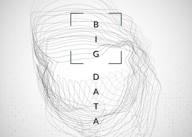 人工知能の背景。ビッグデータ、視覚化、ディープラーニング、量子コンピューティングのためのテクノロジー。画面コンセプトのデザインテンプレート。カラフルな人工知能の背景。
