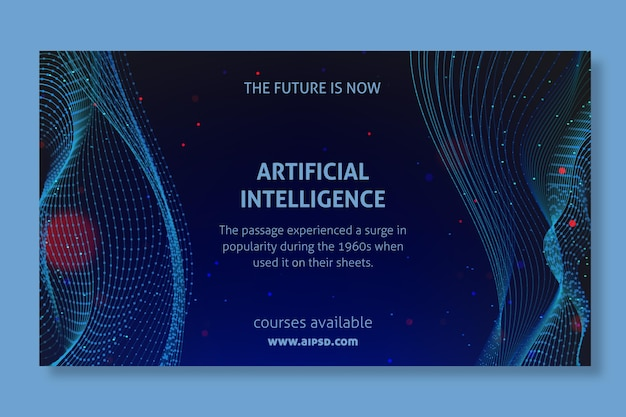 Artificial intelligence banner design