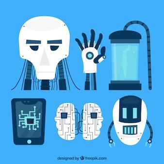 Коллекция элементов искусственного интеллекта