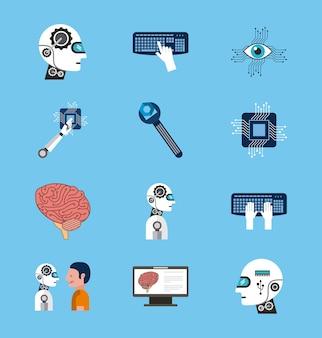 인공 지능 아이콘 설정 기술